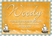 Name Woody
