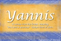 Name Yannis