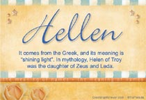Name Hellen
