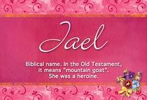 Name Jael
