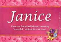Name Janice