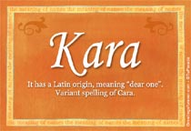 Name Kara