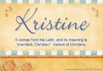 Name Kristine