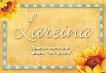 Name Lareina