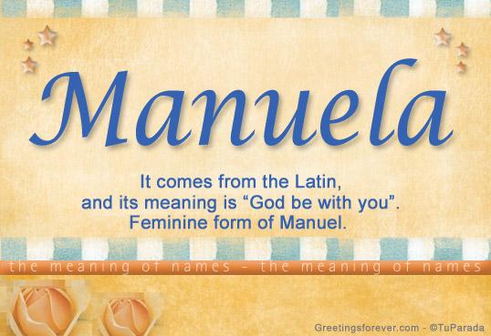Names, Manuela Biography