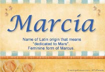 Name Marcia