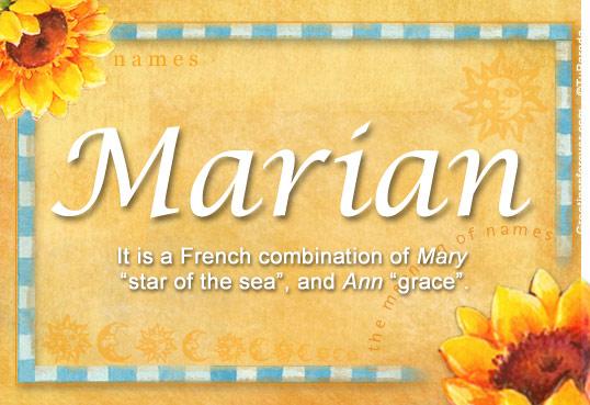 Marian Name Meaning - Marian name Origin, Name Marian ...
