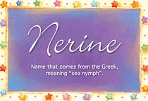 Name Nerine