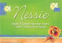 Name Nessie