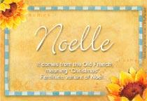 Name Noelle