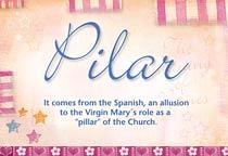Name Pilar