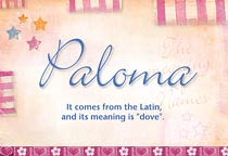 Name Paloma
