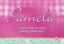 Name Pamela