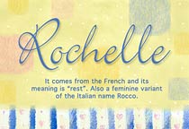 Name Rochelle