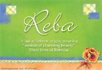 Name Reba