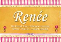 Name Renée