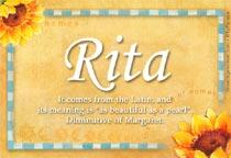 Name Rita