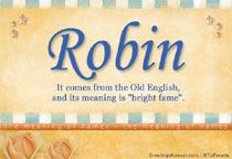 Name Robin
