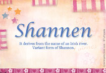 Name Shannen