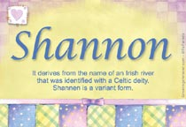 Name Shannon