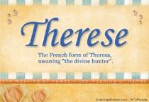 Name Therese
