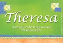 Name Theresa