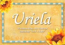 Name Uriela