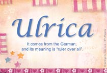Name Ulrica
