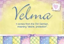 Name Velma