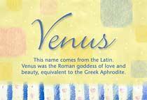 Name Venus