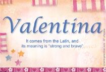 Name Valentina