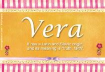 Name Vera