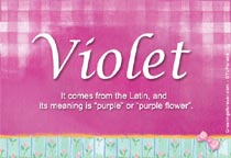 Name Violet