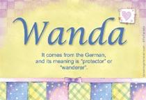Name Wanda