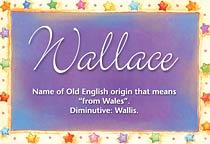 Name Wallace