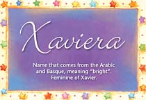 Name Xaviera