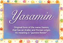Name Yasamin