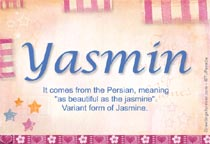 Name Yasmin