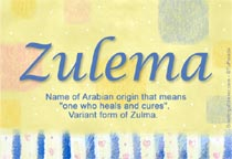 Name Zulema
