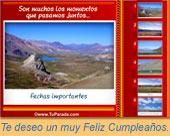 Tarjetas postales: Feliz Cumpleaños