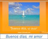 Tarjetas postales: Buenos días, mi amor