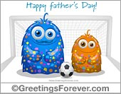 Ecards: Happy fathers day from his son