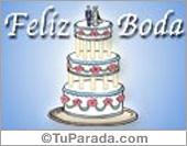 Bodas - Tarjetas postales: Postal de feliz boda