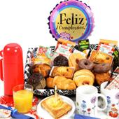 Desayunos y canastas a toda España.