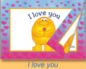 Greeting ecards: I love you, e-book