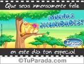 Felicidades - Tarjetas postales: Muchas Felicidades