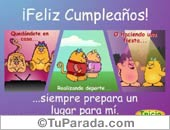 Tarjeta - Festeja tu cumpleaños...