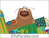 Tarjetas postales: Muchos regalos