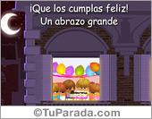 Ecard de feliz cumpleaños interactivo