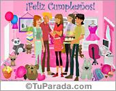 Tarjetas postales: Feliz cumpleaños para alguien especial